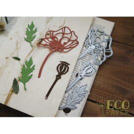 Нож для вырубки «Маковое поле» Ecopaper