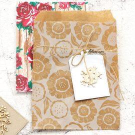 Пакет бумажный фасовочный — Daisies