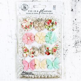 Набор цветов и бабочек Dacey
