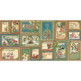 Декоративные карточки Christmas Magic