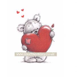 Набор карточек James&Jenny Bear#2