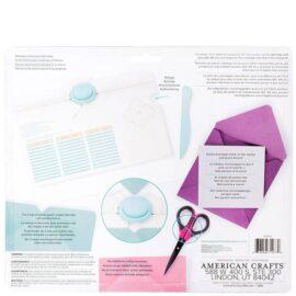Инструмент (доска) для изготовления конвертов