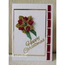 Основа для открытки с отверстиями для ленты, 1 шт. + конверт