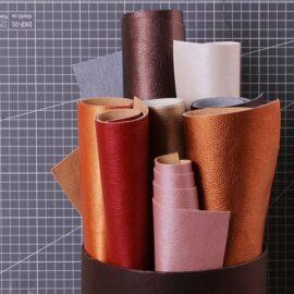 Искусственная кожа с перламутром, 400 г/м2, цвет медный, Mr.Painter