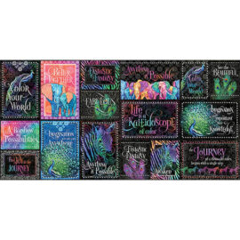 Декоративные карточки Kaleidoscope