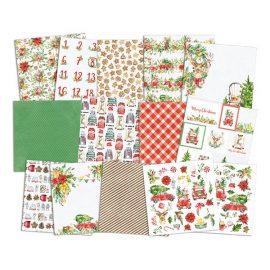 Набор бумаги «Christmas treats», 6″ * 6″