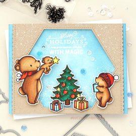 Милая новогодняя открытка