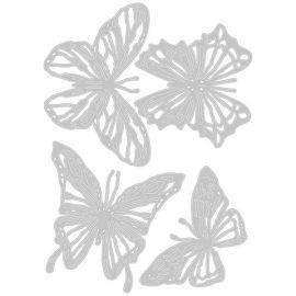 Ножи для вырубки Scribbly Butterfly