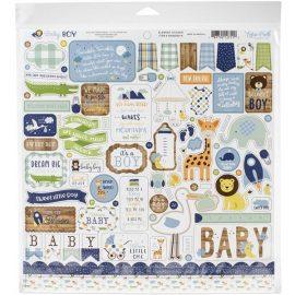 Набор бумаги Baby Boy