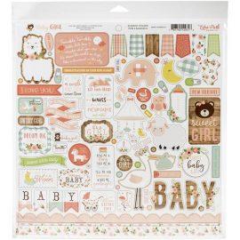 Набор бумаги Baby Girl